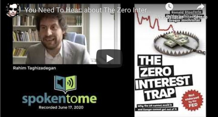 You Need To Hear: about The Zero Interest Rate Trap